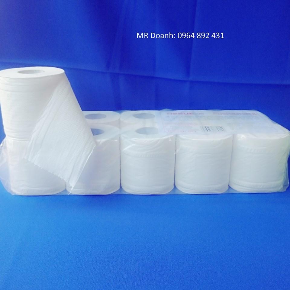 Giấy vệ sinh Tissue 10 cuộn 3 lớp