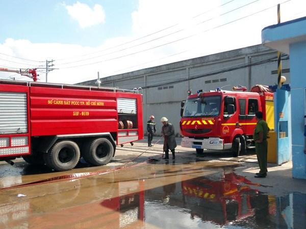 Diễn tập phòng cháy chữa cháy của Công Ty