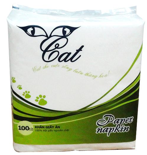 Khăn ăn Cat Premium